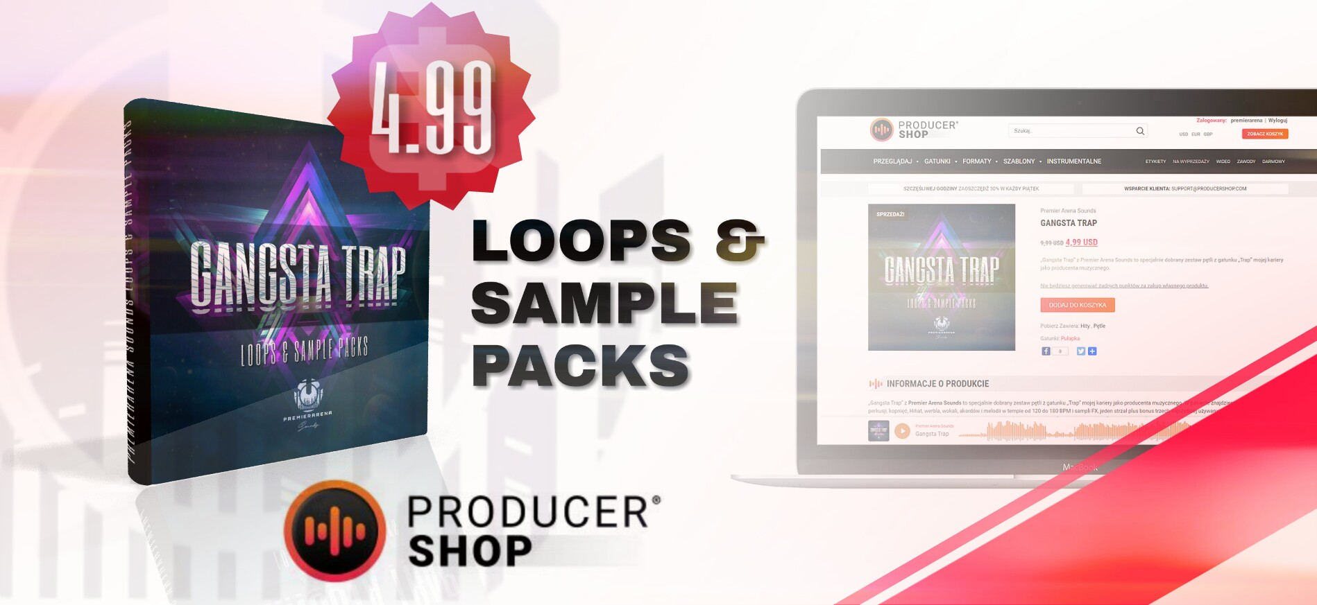 GANGSTA TRAP LOOPS & SAMPLE PACKS